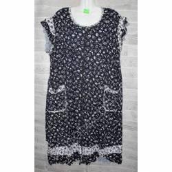 Халат-платье женский батал оптом (54-62)-52891