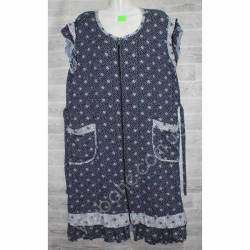 Халат-платье женский батал оптом (54-62)-52892