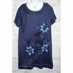 Халат-платье женский батал оптом (54-60)-52901