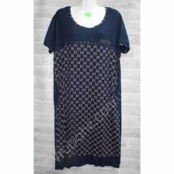 Халат-платье женский батал оптом (54-60)-52904