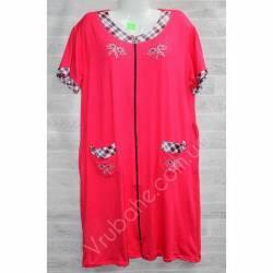 Халат-платье женский батал оптом (54-60)-52907