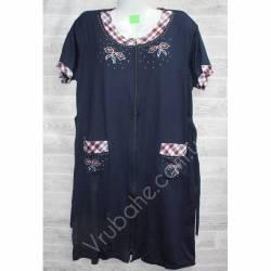 Халат-платье женский батал оптом (54-60)-52908