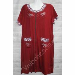 Халат-платье женский батал оптом (54-60)-52909