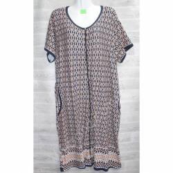 Халат-платье женский батал оптом (54-60)-52913
