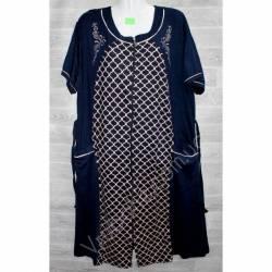 Халат-платье женский батал оптом (54-60)-52921