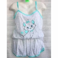 Пижама женская оптом (XL-5XL) -53051