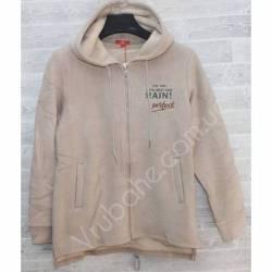 Кофта женская теплая на флисе Китай (S-2XL) оптом -56962