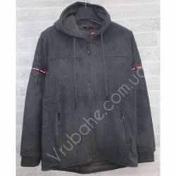 Кофта мужская теплая на флисе Китай (M-3XL) оптом -56975