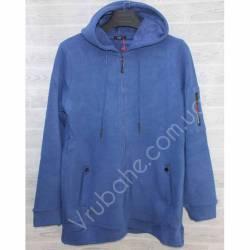 Кофта мужская теплая на флисе Китай (M-3XL) оптом -56986