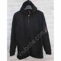 Кофта мужская теплая на флисе Китай (M-3XL) оптом -56987