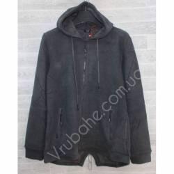 Кофта мужская батал теплая на флисе Китай (3XL-6XL) оптом -56998