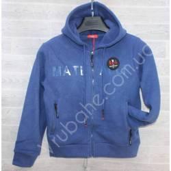 Кофта теплая подростковая на флисе Китай (S-2XL) оптом -57012