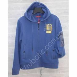 Кофта теплая подростковая на флисе Китай (S-2XL) оптом -57018