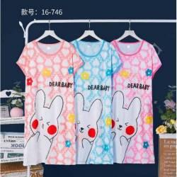 Ночная рубашка норма (46-50) оптом -57986