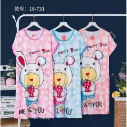 Ночная рубашка норма (46-50) оптом -57989