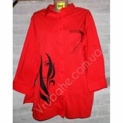 Блуза женская (50-56) Китай 5346 оптом-59048