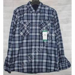 Рубашка мужская с мехом HETAI (XL-5XL) Китай оптом A631-59239