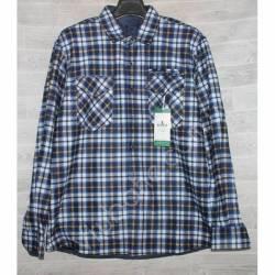 Рубашка мужская с мехом HETAI (XL-5XL) Китай оптом A631-59240