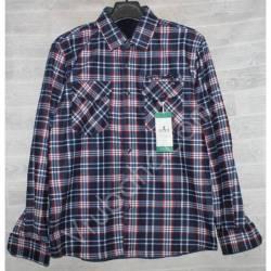 Рубашка мужская с мехом HETAI (XL-5XL) Китай оптом A631-59241