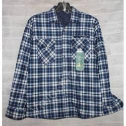 Рубашка мужская с мехом HETAI (XL-5XL) Китай оптом A631-59242