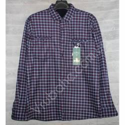 Рубашка мужская с мехом HETAI (XL-5XL) Китай оптом A604-59244