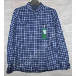 Рубашка мужская с мехом HETAI (XL-5XL) Китай оптом A604-59246