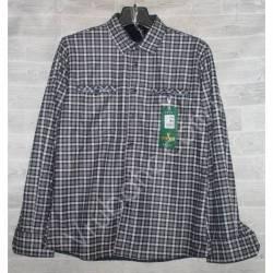 Рубашка мужская с мехом HETAI (XL-5XL) Китай оптом A604-59247