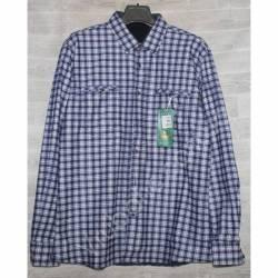 Рубашка мужская с мехом HETAI (XL-5XL) Китай оптом A603-59249