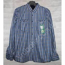Рубашка мужская с мехом HETAI (XL-5XL) Китай оптом A603-59250