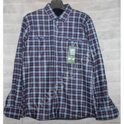 Рубашка мужская с мехом HETAI (XL-5XL) Китай оптом A602-59254