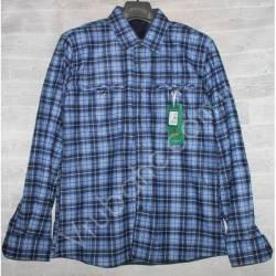 Рубашка мужская с мехом HETAI (XL-5XL) Китай оптом A602-59256