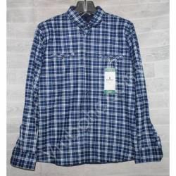 Рубашка мужская с мехом HETAI (XL-5XL) Китай оптом A602-59257