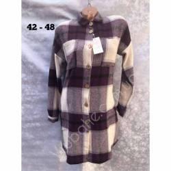 Рубашка женская оптом(42-48)Украина-63016