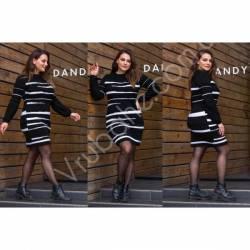 Платье теплое женское оптом(46-56)Украина-63036