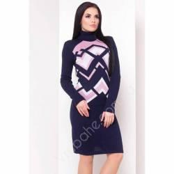 Платье теплое женское оптом(44-52)Украина-63045