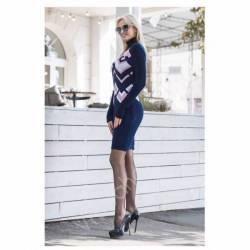 Платье теплое женское оптом(44-52)Украина-63051