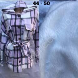 Рубашка женская оптом на меху(44-50)Украина-63057