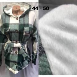 Рубашка женская оптом на меху(44-50)Украина-63059