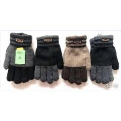 Перчатки подростковые оптом(6-8лет) Китай Е835-63312