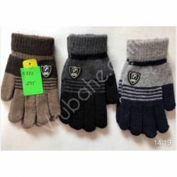 Перчатки подростковые оптом(6-8лет) Китай Е832-63315