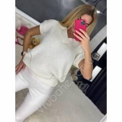 Жилетка вязаная женская оптом (42-48) Украина-65951