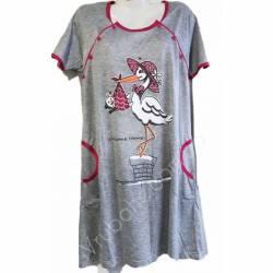 Ночная рубашка оптом (46-54) Китай 65967