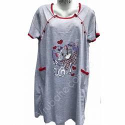 Ночная рубашка оптом (46-54) Китай 65969