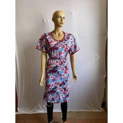 Халат женский Батал оптом (54-62) Украина-65976
