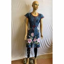 Халат женский Норма оптом (52-58) Украина-65980