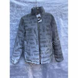 Куртка женская Батал светоотражающая оптом(50-58)Украина-67744