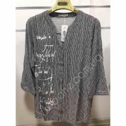 Рубашка женская Батал оптом(52-60)Украина-68896