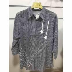 Рубашка женская Батал оптом(52-60)Украина-68897