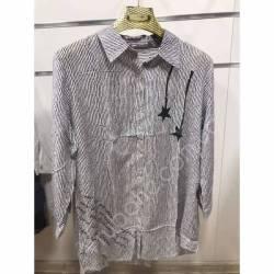 Рубашка женская Батал оптом(52-60)Украина-68898