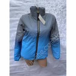 Куртка женская Омбре оптом(42-50)Украина-69268